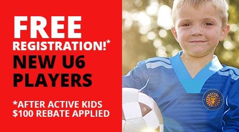 FREE U6 Registration