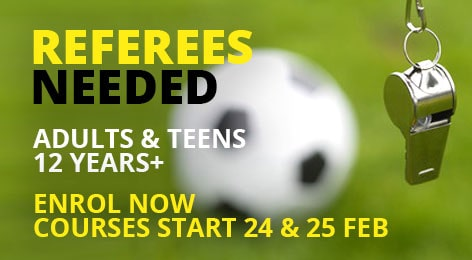 referees needed adults and teens 12 years+ min