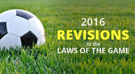 revision to the laws of the game